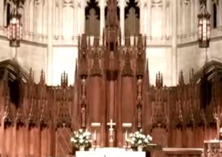 Wedding at Heinz Chapel, Pittsburgh