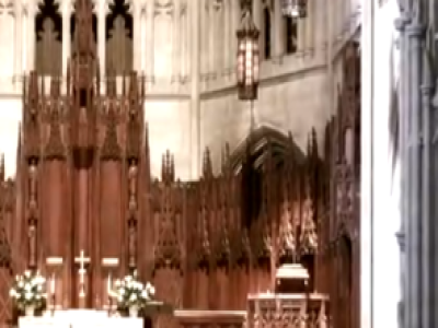 Wedding at Heinz Chapel, Pittsburgh